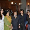 Anil, Shahid, Sonam, Supriya and Pankaj Kapoor at Music success party of film 'Mausam' at  JW Marrio