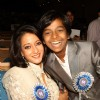 Raima Sen and Harsh Mayar at the 58th National Film Awards 2010, in New Delhi
