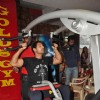 John Abraham promotes his film Force at Gold Gym, Bandra in Mumbai