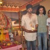 Ranbir Kapoor and Imtiaz Ali at RK Studio Ganapati Immersion