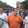 Rishi and Rajiv Kapoor at RK Studio Ganapati Immersion