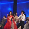 Shah Rukh Khan and Kareena Kapoor shaking their legs on the Ra.One music launch
