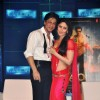 Shah Rukh Khan with Kareena Kapoor on the Ra.One music launch