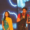Shah Rukh with Sanaya Irani at Ra.One music launch