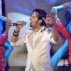 Salim Merchant sing a song at launch of film Aazaan music at Sahara Star