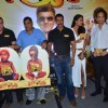 Sanjay Dutt, David Dhawan, Lisa Haydon & Ajay Devgn at the press meet of the film Rascals