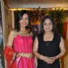 Achla Sachdev with Nisha sagar at her latest collection launch at Juhu, Mumbai
