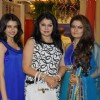 Bhagyashree, Kiran Sippy & Sheeba at Nisha Sagar's latest anaarkalis 'SMITTEN' at Juhu, Mumbai