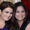 Sheeba with Nisha Sagar at Nisha Sagar's latest collection launch at Juhu, Mumbai