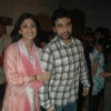 Shilpa Shetty with Raj Kundra at Andheri Ka Raja Ganpati at Andheri