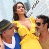 Ajay and Sanjay with Lisa Haydon in the movie Rascals