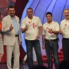 Dia Mirza, Boman Irani, Sanjay Dutt and Sachin Tendulkar at NDTV Suppport my school telethon, Yashra