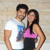 Gurmeet & Debina at friend's Birthday Party