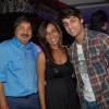 Tony Singh, Deeya Singh with Karan Wahi at 'Maryaada Lekin Kab Tak' completion party of 200 episodes