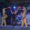 Force film villan Vidyut Jammwal at a live stunt session at Famous, Mahalaxmi