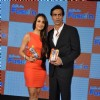 Malaika Arora Khan and Arjun Rampal at  launch of 'Gillette Fusion'