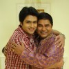 Shoaib Ibrahim with Ashiesh Roy in Sasural Simar Ka