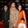 Sonu Nigam with family at 'Chevrolet Global Indian Music Awards' at Kingdom of Dreams in Gurgaon