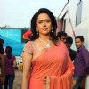 Hema Malini on the sets of India's Got Talent 3 for promotion of film 'Tell Me O Khuda' at Filmcity