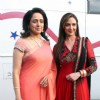 Hema Malini and Esha Deol on the sets of India's Got Talent 3 for promotion of film 'Tell Me O Khuda