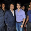 Shekhar Suman with son Adhyayan at Yogesh Lakhani's Birthday celebrations at Hotel Peninsula Grand