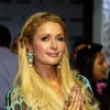 Paris Hilton showcases her line of handbags and accessories at Shoppers Stop at Inorbit Mall in Malad, Mumbai