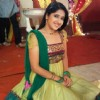 Neha Narang on the sets of Sasural Genda Phool