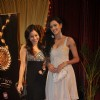 Kajal Pisal and Sumona Chakravarti at ITA Awards at Yashraj studios in Mumbai