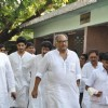 Boney Kapoor at Producer Surinder Kapoor funeral at Vile Parle in Mumbai