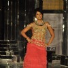 Sameera Reddy walks on the ramp for Shane & Falguni Peacock at Mumbai