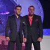 Salman Khan and Sanjay Dutt at Bigg Boss 5 launch