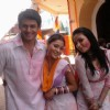 Sweety with Mona and Parmeet in Ram Milaayi Jodi