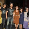Zayed Khan, Dia Mirza with cast sales ticket of film 'Love Breakups Zindagi' at box office