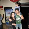 Zayed Khan with wife and son at Premiere of movie 'Love Breakups Zindagi' at PVR