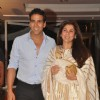 Akshay Kumar with Dimple Kapadia at Music launch of film 'Tell Me O Kkhuda' in Mumbai