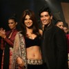 Priyanka Chopra with Manish Malhotra pose during the People Magazine Best Dressed Show 2011 party