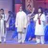 Amitabh Bachchan, Aadesh Shrivastava performs during the launch of album 'Shri Hanuman Chalisa'