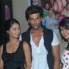 Krystle Dsouza, Nia Sharma and Kushal Tandon at launch party of their show Ek Hazaaron Mein Meri Beh
