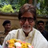 Amitabh Bachchan celebrates his 69th Birthday with media at his office Janak in Mumbai