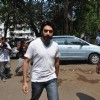 Shekhar Ravjiani at Funeral of Legendery Gazal Singer 'Jagjit Singh' at Chandanwadi Crematorium