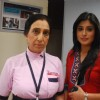 Dr. Nidhi with Nurse D'souza in tv show Kuch Toh Log Kahenge