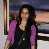 Shahana Goswami at Shesh Lekha's exhibition in Mumbai