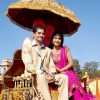 Karan and Hina promoting the tv show Ye Rishta Kya Kehlata Hai in Jaipur
