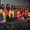 Sonam, Milind Soman, Atul Kasbekar and Ujjwala Raut as a judge in Kingfisher Calendar Girl 2011