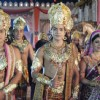 Ram, Lakshman, and Sita return to Ayodhya after 14 year vanvaas