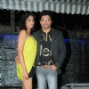 Riyaz Ganji with his wife at Grand launch of 'CAVE' for the first time in Mumbai a Sunken Bar