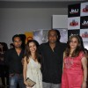 Premal Goragandhi with his wife Bhumika and friend Nikkesha Rangwala at Premiere of film 'Aazaan'