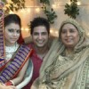 Sumona and Mohit with Dadi in Bade Acche Laggte Hai