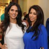 Anita Dongre with Krishika Lulla at launched of Anita Dongre desert cafe - Schokolaade at Khar