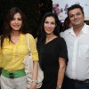 Sonali Bendre with Namrata and Mehul Bhuta at launched of Anita Dongre desert cafe - Schokolaade